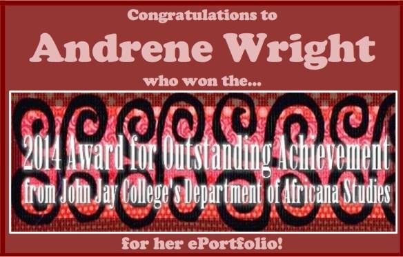 andrene congrats