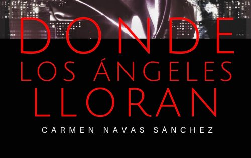 Imagen parcial cubierta novela Donde los ángeles lloran