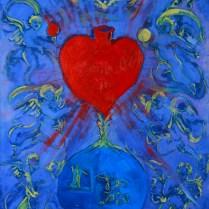 Alegoría al inmaculado corazón de María, sueño de San José
