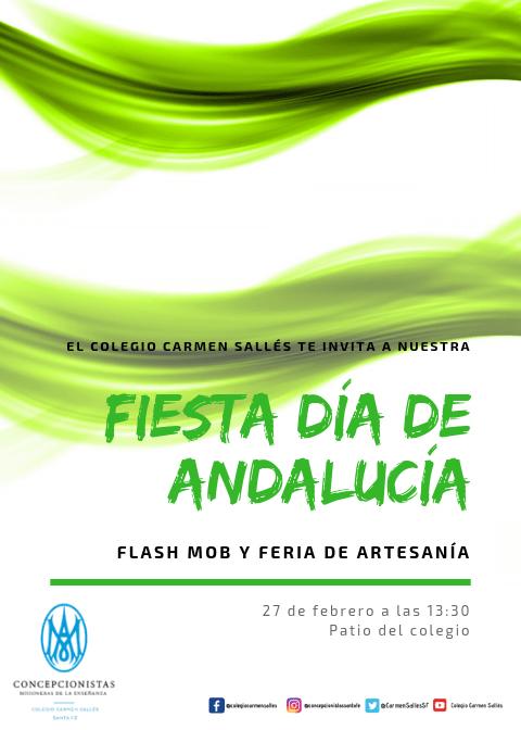 Fiesta escolar del día de Andalucía