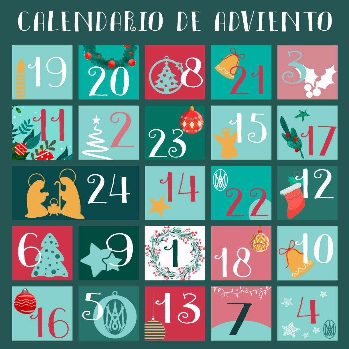 Calendario de Adviento Concepcionista