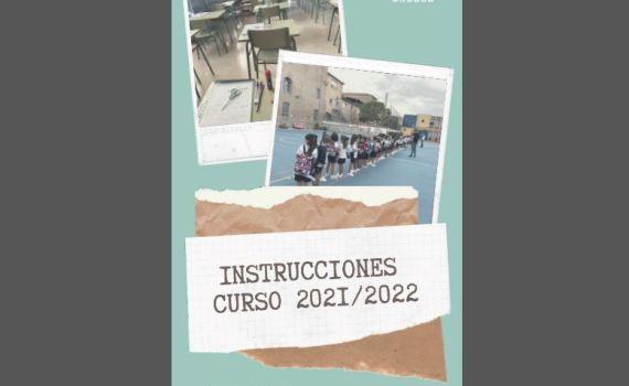 Instrucciones curso 2021 2022