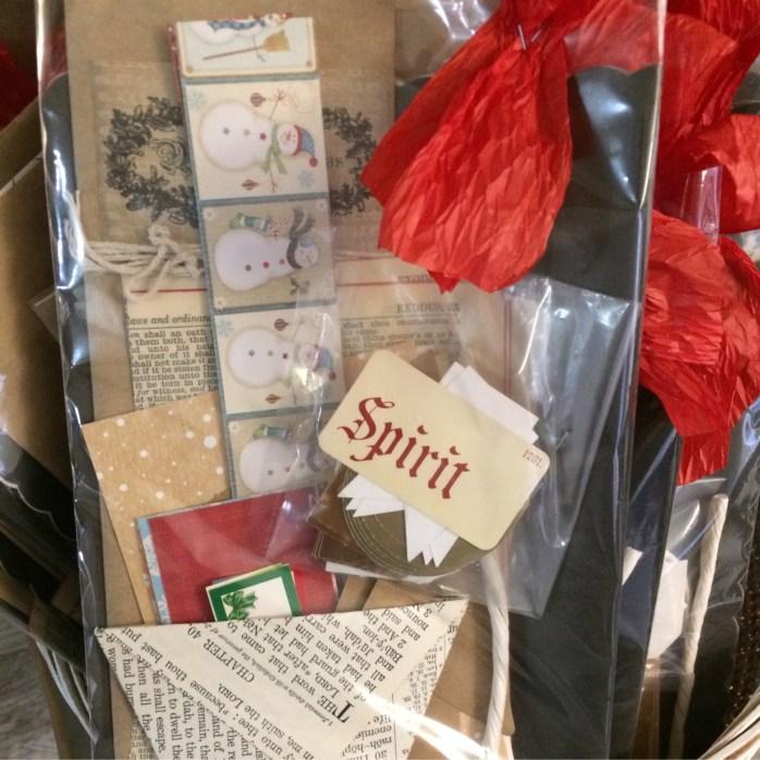 Fun Christmas embellishment kit