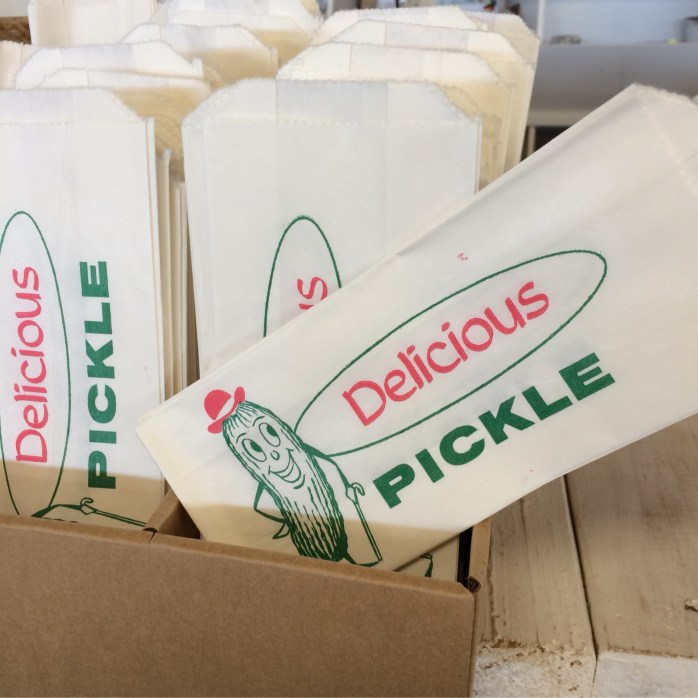 "3""x 6 1/2"" pickle bags  qty (6)"