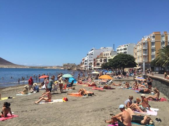 El Medano Beach, Tenerife