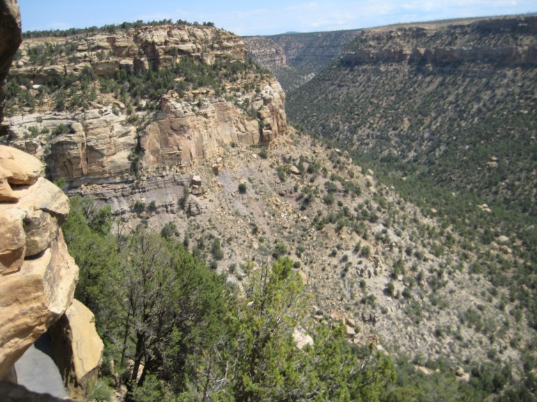 Mesa Verde National Park Cliffs
