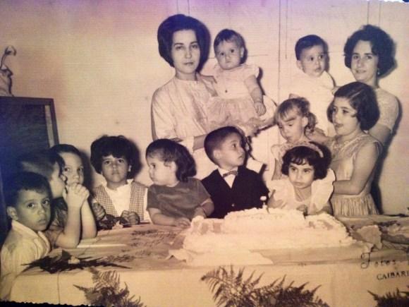 Celebrating my first birthday in Cuba,