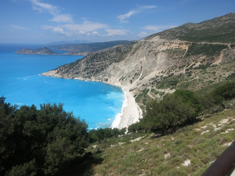 Myrtos Beach,Kefalonia Greece