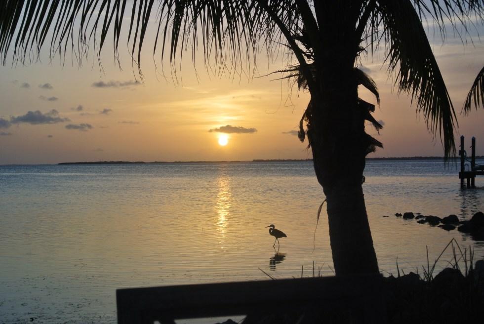 Sunset at Little Palm Island, Little Torch Key, Florida