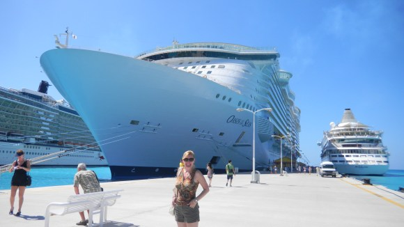 Royal Caribbean's - Oasis of the Seas Docked