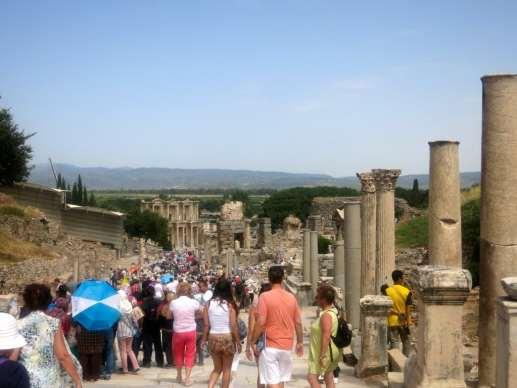 Marble Streets of Ephesus on Curetes Street