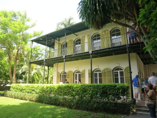 Ernest Hemingway's House Side View, Key West