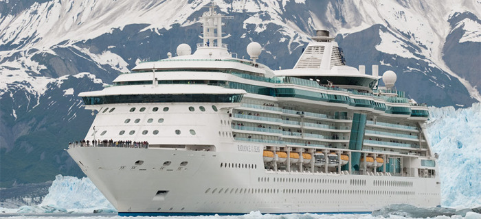 Cruise Ship – Radiance of the Seas. Cruise to Alaska