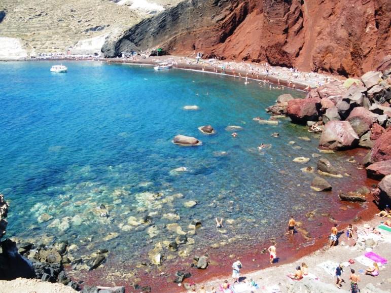 Santorini Beaches - Red Beach