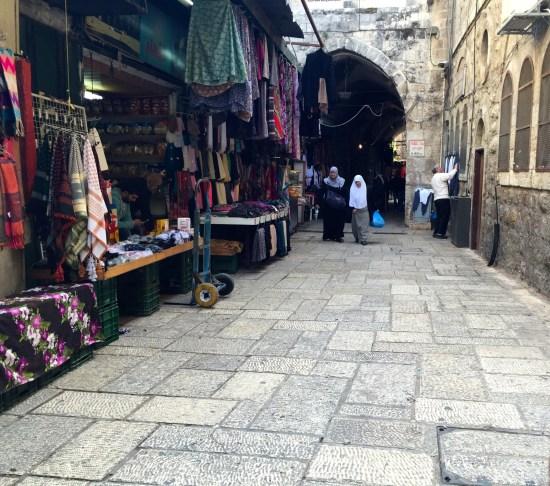 Muslin Quarters in Old Jerusalem