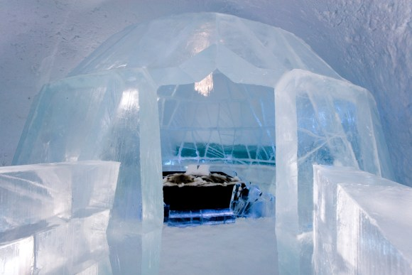 Ice Hotel Royal Bedroom