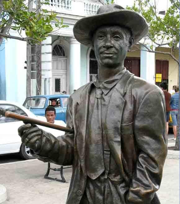 The Statue of Benny Mode in Cienfuegos, Cuba