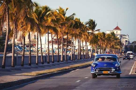 El Malecon de Cienfuegos, Cuba