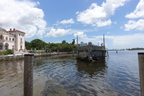 Stone Barge at Vizcaya Museum and Garden, Miami