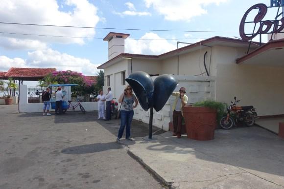 Pay phone in Cienfuegos, Cuba