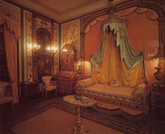 Bedroom in  Vizcaya Museum and Gardens, Miami