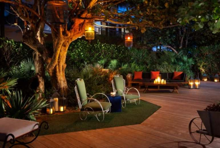 Grove Garden at Night - W South Beach