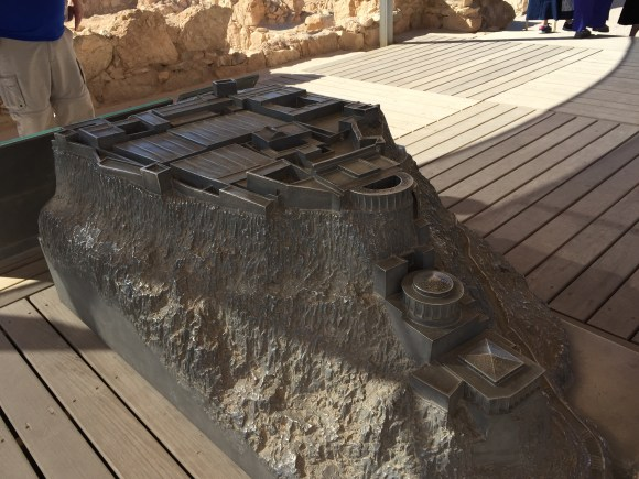 Model of Masada,