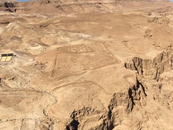 Romans garrison at Masada