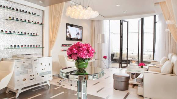 The Nail Bar at The Spa at Beverly Wilshire, Beverly Hills (A Four Seasons Hotel)