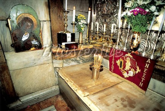 Inside the Tomb of Christ