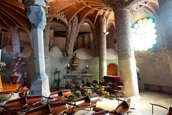 Gaudi's Cryst Columns - Colònia Güell