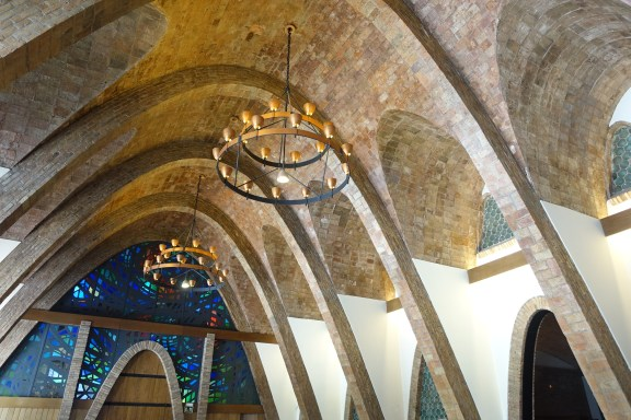 Cathedral Cava Ceiling, Codorniu Winery