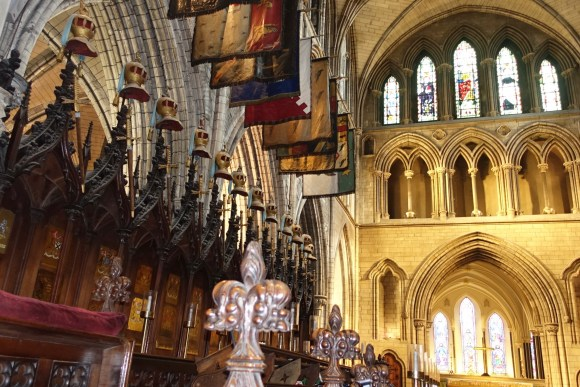 Inside Saint Patrick's Cathedral, Ireland