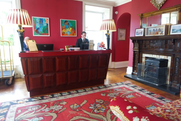 The Lodge at Ashford Castle Reception Area