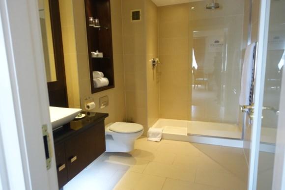 Duplex Suite Bathroom - The Lodge at Ashford Castle