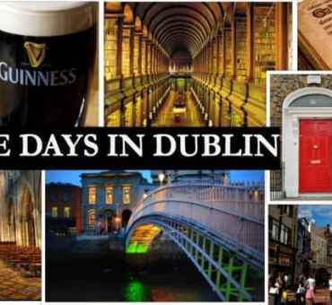 Three Days in Dublin:  What to Do