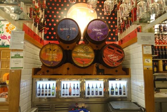 El Mercado de San Miguel - Vermouth on tap