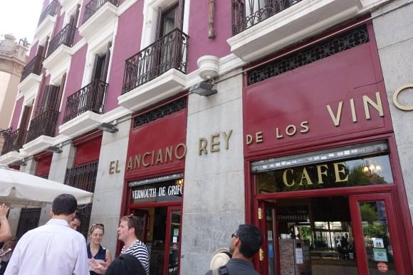 El Anciano Rey de los Vinos (Madrid Food Tour)