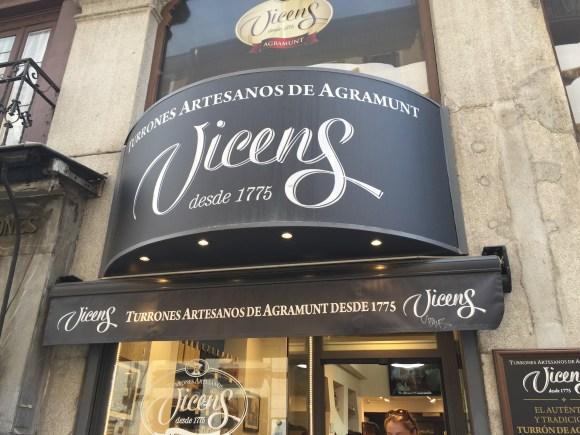 Madrid Food Tour - Torrons Vicens