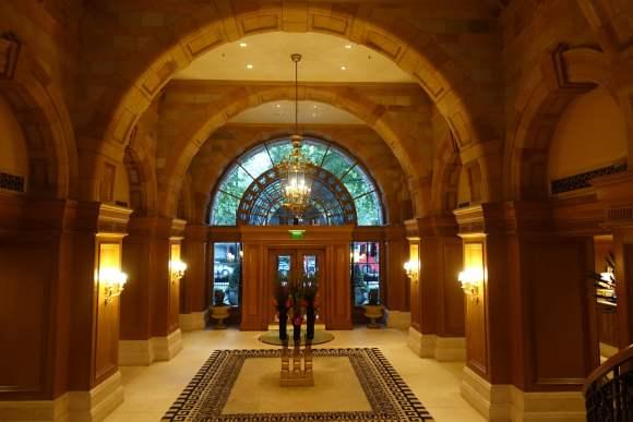 The Landmark London lobby entrance area