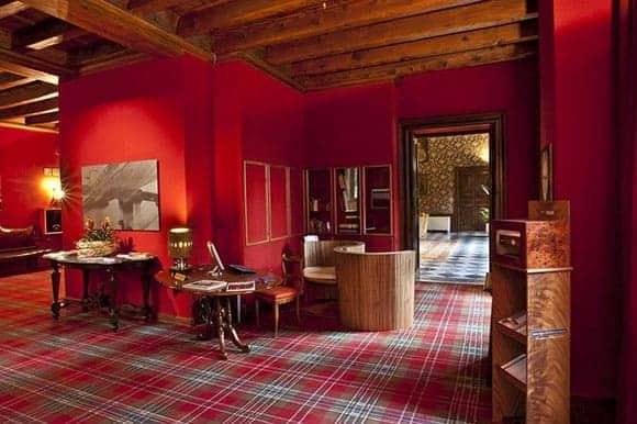 Villa la Principessa Hallway - Reception Area