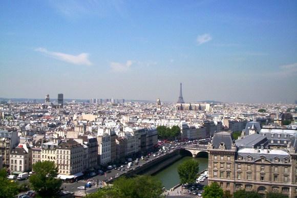 The City of Paris, France
