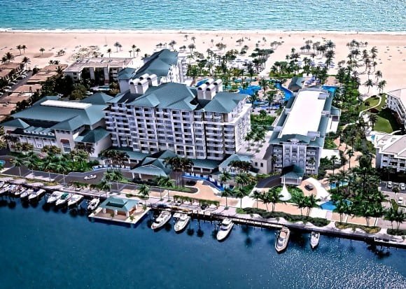 Luxury Hotels in Fort Lauderdale Beach - Lago Mar Resort and Club (Image Courtesy of NBWW)