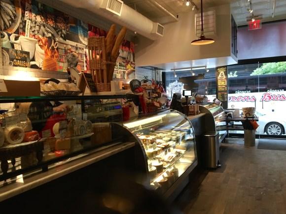 Despaña Fine Foods & Tapas Café Soho store counters