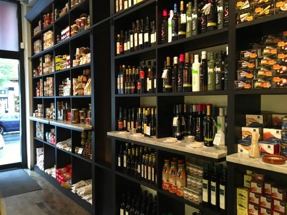 Despaña Fine Foods & Tapas Café Soho Shelves of Food Products