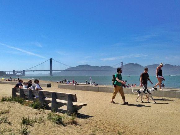 San Francisco's Crissy Field (Photo Laura Bly, USA TODAY)