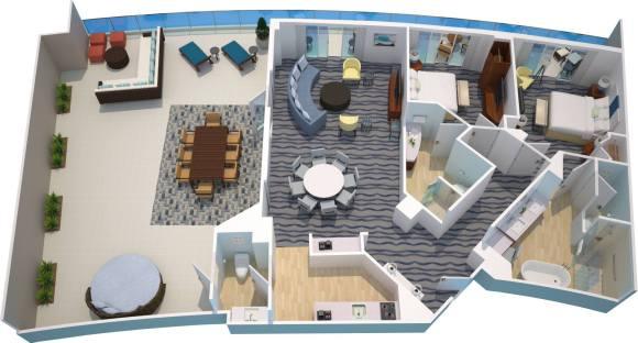 King Suite at the Opal Sand Resort (Image Courtesy of Opal Sands Resort)