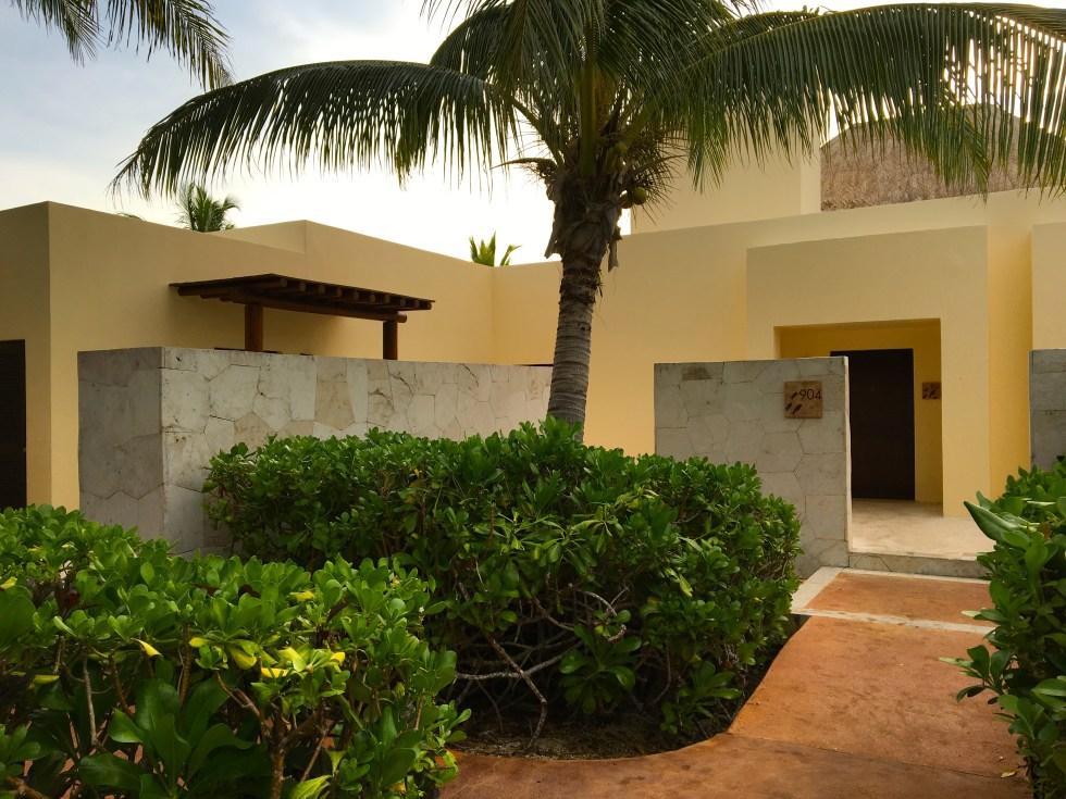Oceanfront Casita Suite Entrance - Fairmont Mayakoba