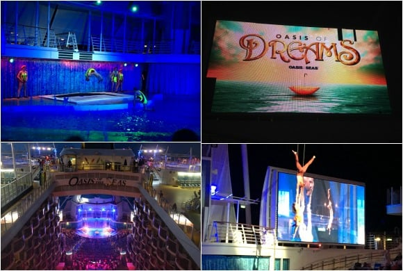 Oasis of Dreams Show on Oasis of the Seas