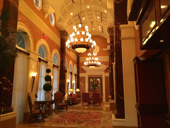 Lobby Area of Acqualina Resort